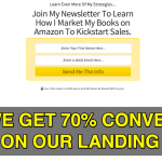 How We Get 70% Conversions On Our Landing Pages